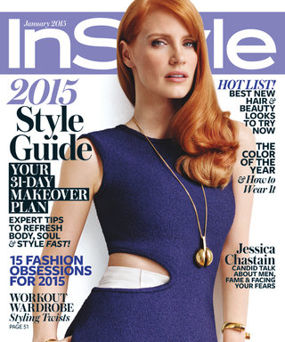 Go Behind the Scenes of Jessica Chastain's January Cover Shoot