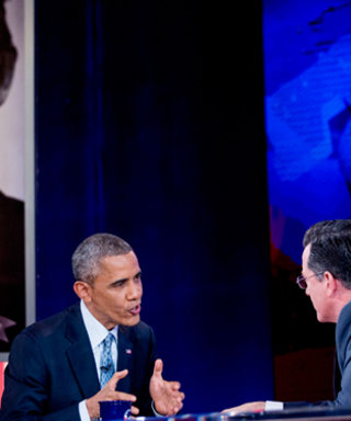 Watch President Barack Obama Take Over Hosting Duties on The Colbert Report
