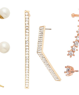 Shop the Trend: Mismatched Earrings