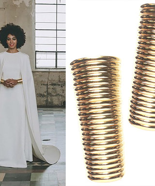 The Making of Solange's Fetching Gold Wedding Cuffs