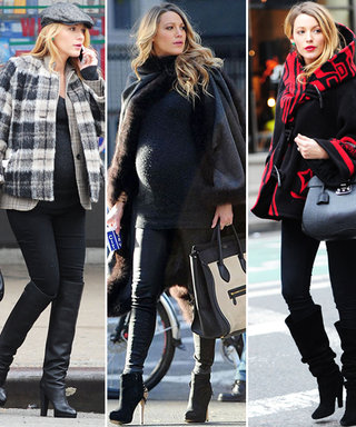 This Is the Shortcut to Achieving Flawless Maternity Style Like Blake Lively