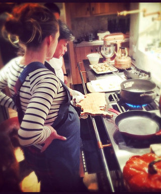 Blake Lively Cooks with Top Chef Winner, Showcases Chic Kitchen Style