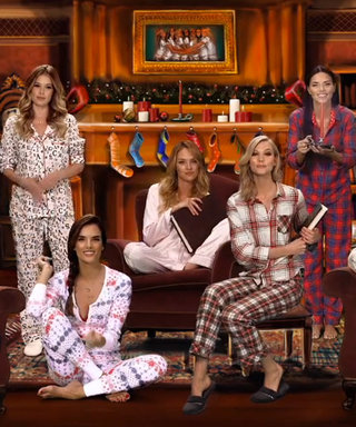 Watch the Victoria's Secret Angels Put a Sexy Spin on 'Twas the Night Before Christmas