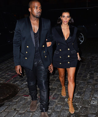 Kim Kardashian and Kanye West Get Super Sexy in Their Brand-New Balmain Campaign