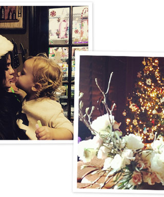 From Selena Gomez's Holiday Kiss to Jessica Alba's Christmas Tree, Here are the 10 Best Celeb Instagrams of the Weekend