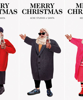 Santa Gets a High-Fashion Makeover with Outfits by Saint Laurent, Marni, Kenzo, and More