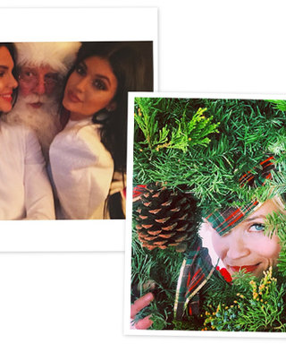 "Reese Becomes ""Wreath Witherspoon""! See the Stars' Christmas Celebrations"