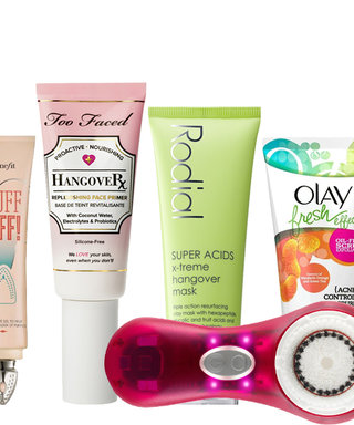 You Fell Asleep in Makeup---Now What? See Our New Year's Eve Hangover Skincare Guide