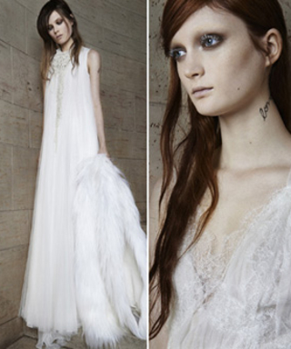 Vera Wang Returns to White Bridal Dresses for Spring 2015