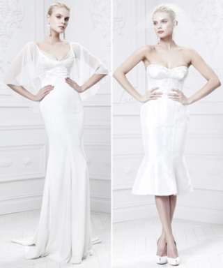 Zac Posen's David's Bridal Fall 2014 Collection Embodies Old Hollywood Glamour
