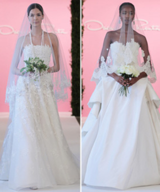 Oscar de la Renta's Dreamy Spring Bridal Collection Included Gorgeous Gowns and Itty Bitty Flower Girls
