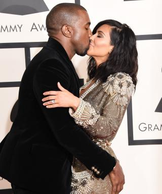 Kim Kardashian and Kanye West's Cutest Grammy Awards Moments