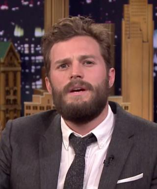 Jamie Dornan Fifty Accents of Grey Tonight Show