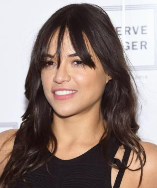 Michelle Rodriguez at NYFW