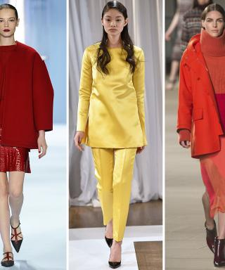 NYFW Fall 2015 Trend: Monochromatic