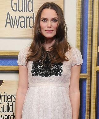 Keira Knightley at Writers' Guild Awards