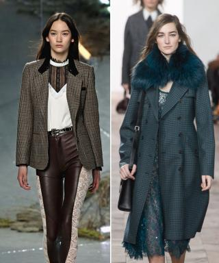 NYFW Fall 2015 Trend: Houndstooth and Lace