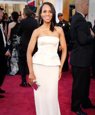Kerry Washington Shimmies at 2015 Oscars