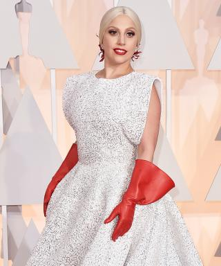 Lady Gaga at 2015 Oscars