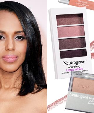 nude makeup, kerry washington