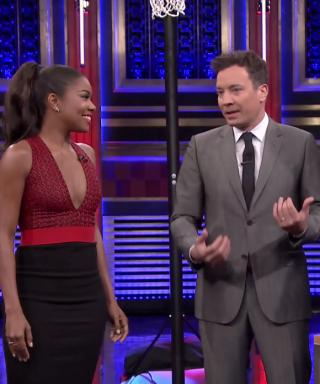 Gabrielle Union Josh Duhamel Jimmy Fallon Random Object Shootout
