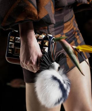 Karlito at Fendi FW15 Runway Show