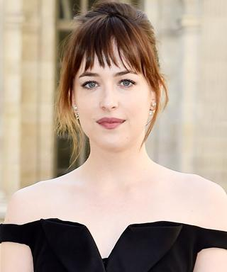 Dakota Johnson Outside Dior