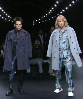 Ben Stiller and Owen Wilson at Valentino