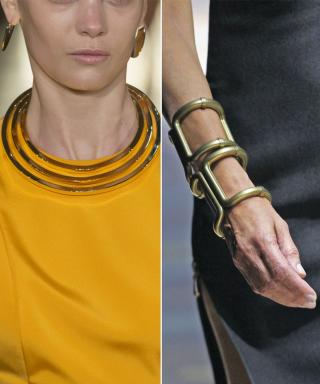 Geometric Jewelry from the Spring 2015 Runway