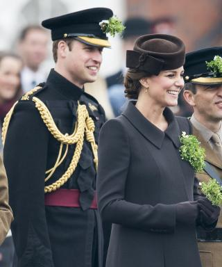 Kate Middleton and Prince William at St. Patrick's Day Parade