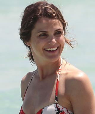 Keri Russell Bikini Photo