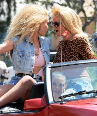 Britney Spears and Iggy Azalea