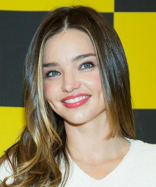 Miranda Kerr Hair Highlights