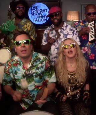 Madonna and Jimmy Fallon sing 'Holiday'