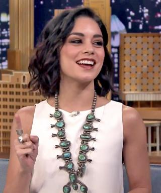 Vanessa Hudgens Tonight Show