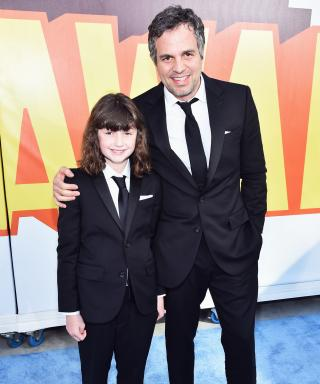 Mark Ruffalo and daughter in J.Crew