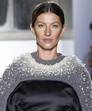 Gisele Bundchen at Balenciaga.
