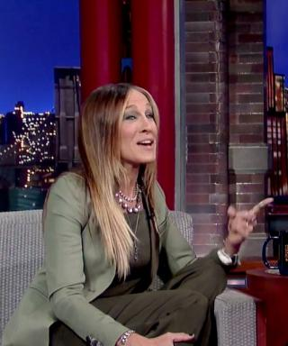 Sarah Jessica Parker Pays Tribute to David Letterman