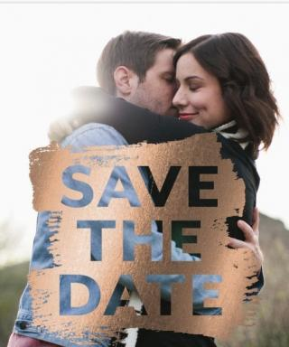 Save-the-Dates We're Swooning Over