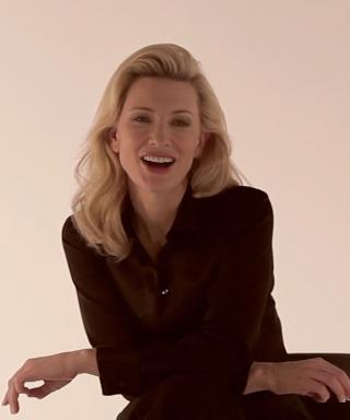 Watch as Cate Blanchett Shares One of Her Proudest Mother Moments