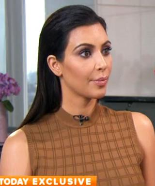 """Kim Kardashian Opens Up About Bruce Jenner on Today: """"I Support Him 100 Percent"""""""