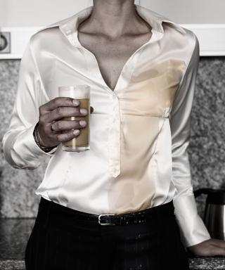 A White Shirt That's Impossible to Stain—It Exists!
