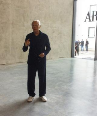 """Giorgio Armani on His 40th Anniversary: """"It's Been Quite an Emotional Journey"""""""