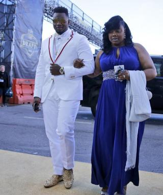 These $7,000 Christian Louboutins Stole The Show At Day One OfThe NFL Draft