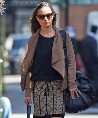 Pippa Middleton Steps Out in Style Ahead of Royal Birth
