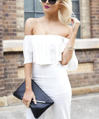 The Hottest Top of the Summer Might Just Be This Cold-Shoulder Style