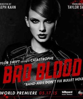 "See What Went Down During the Making of Taylor Swift's ""Bad Blood"" Music Video"