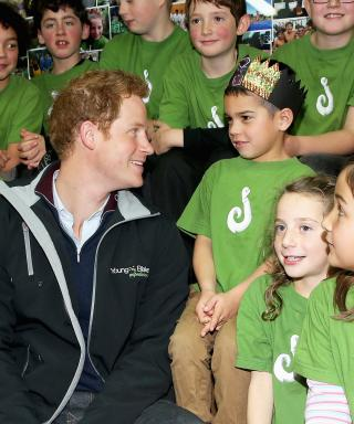 "Prince Harry: ""I Would Love to Have Kids Right Now"""