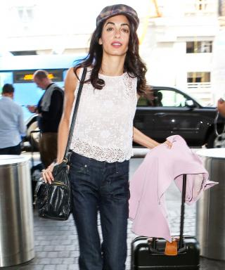 Amal Clooney Makes Wearing a Newsboy Cap Look So Natural