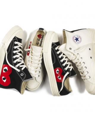 You'll Heart Converse and Comme des Garcons's Latest Collection